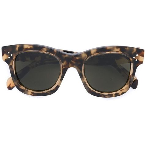 dc286f6913a7 Céline Eyewear cat eye sunglasses ( 370) ❤ liked on Polyvore featuring  accessories