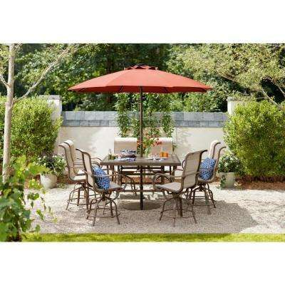 Patio Furniture Outdoors The Home Depot In 2020 Patio Patio Umbrella Outdoor Patio Umbrellas