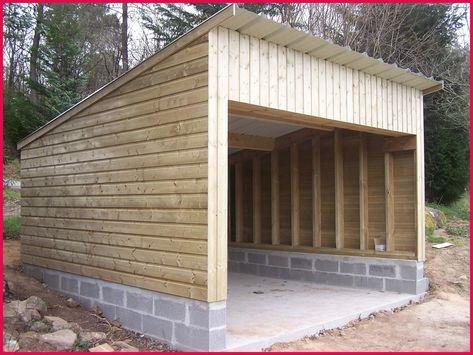 Garage Bois Ou Parpaing Sportsfactoryco Comment Construire Un