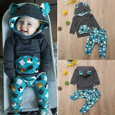 classic styles outlet online super quality Advertisement(eBay) US Newborn Kid Baby Boy Girl Clothes Set ...
