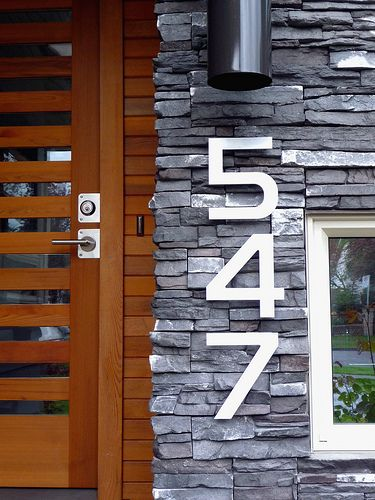 33 best house numbers images on Pinterest House numbers Address
