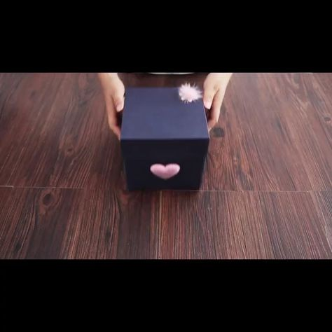 DIY Projects | DIY Crafts | DIY Ideas | DIY Exploding Box | DIY Exploding Box Idea