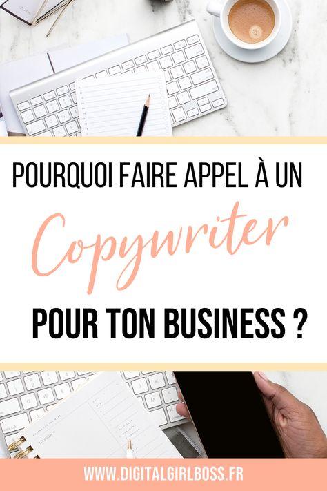 Voici pourquoi tu as besoin d'un bon copywriter pour ton business