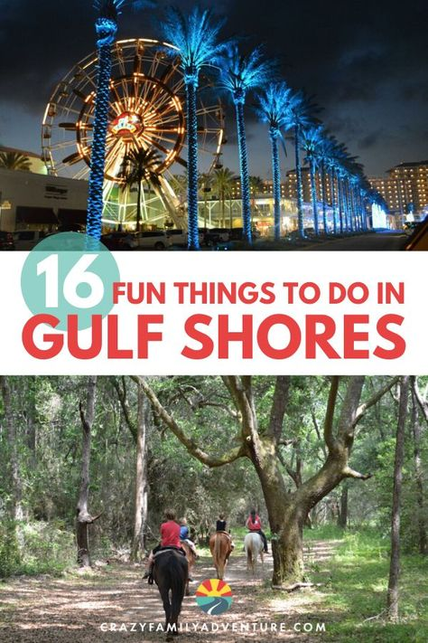 If you are planning a Gulf Shores, Alabama vacation and what things to do in Gulf Shores with kids, we have got you covered. Check out our list that is packed with awesome activities to do with the fa Gulf Shores Beach, Gulf Shores Vacation, Gulf Shores Alabama, Gulf Shores State Park, Mexico Vacation, Parasailing, State Parks, Rv Parks, Alabama Vacation