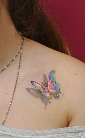 6 Consejos Para El Cuidado De Tatuajes De Mariposas Blancas Hermosos Tatuajes Tatuaje De Mariposa Blanca Tatuajes Elegantes