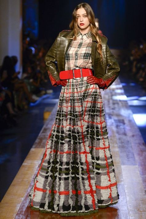 Morgane Dubled for Jean Paul Gaultier Haute Couture Fall/Winter 2016 - Paris Fashion Week.