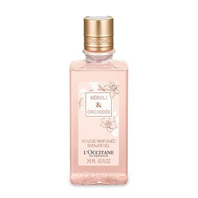 L Occitane Neroli And Orchidee Shower Gel Gently Cleanses The Skin