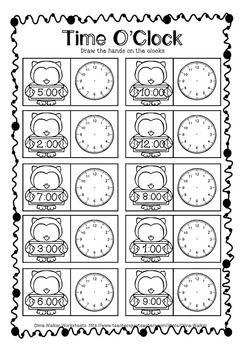 Allerlei Werkbladen Voor Verschillende Vakken Zoals Rekenen Zaakvakken In Engels Maar Veel Time Worksheets Telling Time Worksheets Time Worksheets Grade 3