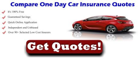 It Is Now Very Easy To Get Cheap One Day Car Insurance Quotes Just Within A Minutes Enter Your City Code N Auto Insurance Quotes Car Insurance Insurance Quotes