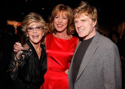 Jane Fonda Robert Redford And Christine Lahti Robert Redford