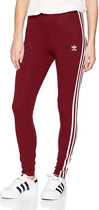 adidas Originals Women's 3 Stripes Leggings, Collegiate