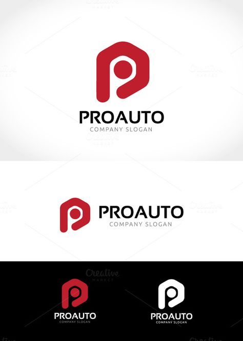 Pro Auto Logo by Super Pig Shop on Creative Market