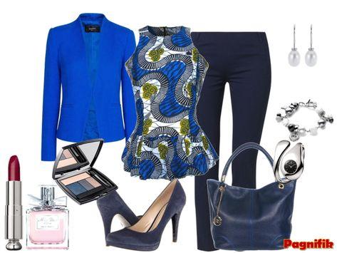 Idée de look Pagnifik - Top bleu Fair and True Trade | Pagnifik