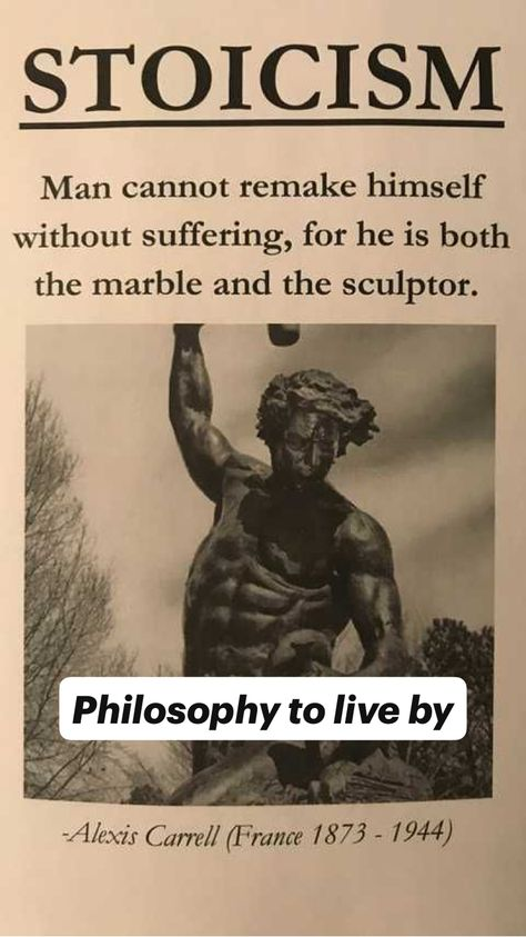 Philosophy to live by