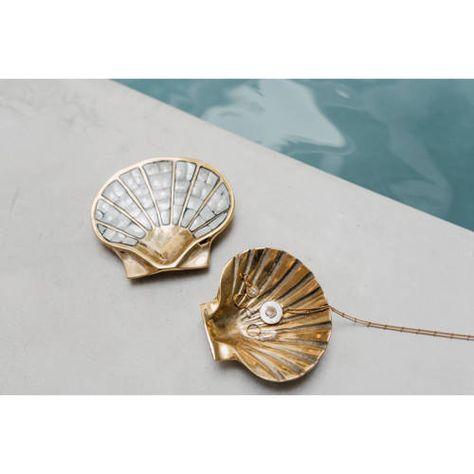 A La Decoratie Schaaltje Shell Decoratie Schelpen Messing