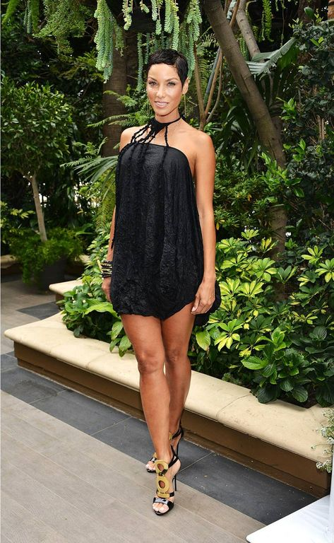 Nicole Murphy attends the ABC's Mother's Day Luncheon at Four Seasons Hotel Los Angeles at Beverly Hills in Los Angeles, California.