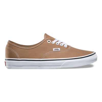 The Authentic, the original and now iconic Vans style, features a simple low top, lace-up profile with sturdy canvas uppers, metal eyelets, and signature rubber waffle outsoles.