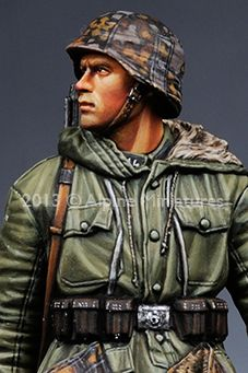 Close up view of one of the new Alpine Miniatures Grenadiers. $18