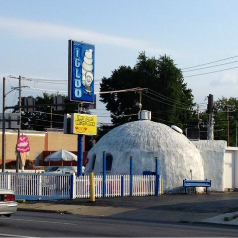Climatologists, global warming researchers baffled by Toledo structure. Pizza Don't Go Bad: Frosty Toledo Landmark Defies Climate Change.