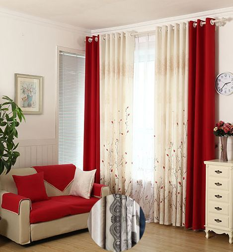 Curtain Color With Brown Furniture And Curtain Colors For Blue