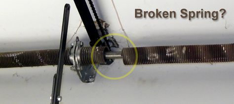 Broken Garage Door Spring Repair And Replacement Riverside Http