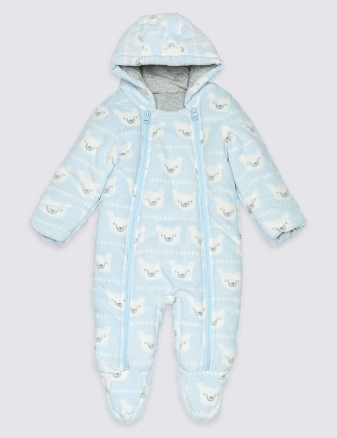5ce0bcdf7b49e All Over Animal Print Pramsuit. See more at www.parentideal.co.uk ...