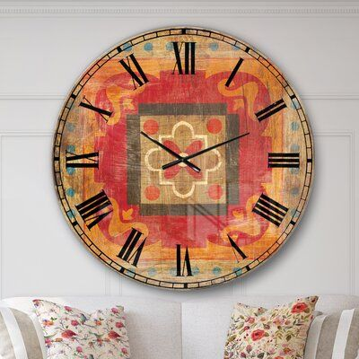Pin By Ericka Walden On I M Late I M Late Oversized Wall Clock Wall Clock Roman Numeral Wall Clock