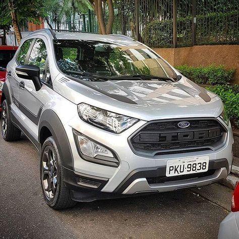 Ford Ecosport Storm 2019 Nova Versao Do Suv Foi Flagrada Sem