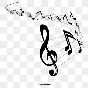 Music Notes Png And Psd Music Clipart Music Notes Art Music Border