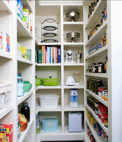 Organisieren Sie Ihre Speisekammer regale haus idee Küche - ordnung kleiderschrank tipps optimalen einraumen