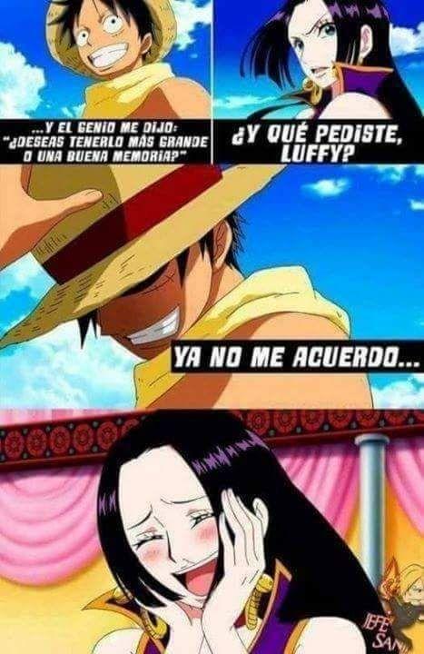 One Piece Boa Hancock Memes Divertidos Memes Otakus Y