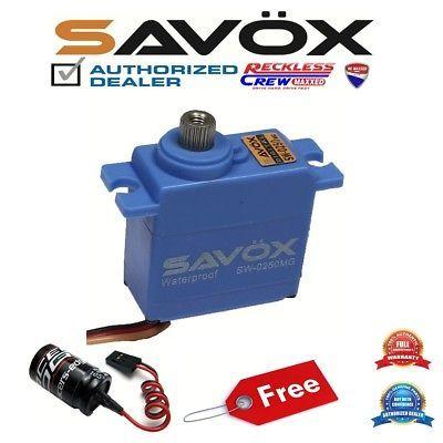 Savox SW-0231MG Waterproof High Torque STD Metal Gear Servo w//Free Horn GLITCH