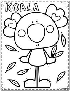 Coloring Club From The Pond Cute Coloring Pages Coloring Pages Coloring Books