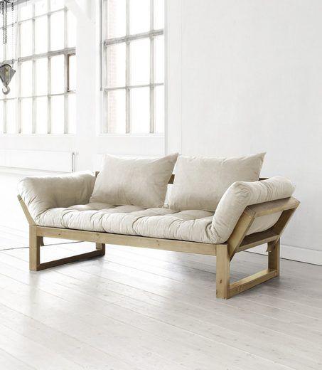 Schlafsofa Karup Com Imagens Sofa De Madeira Modelos De Sofa