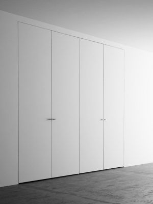 Armadio 4 Ante Misure.Invisible Wardrobes With 4 Doors 220 260 Cm Porte De Placard