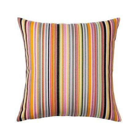 """Ikea Stockholm Cushion Cover Striped Deco Pillow Cover 20 x 20/"""" Yellow Brown"""