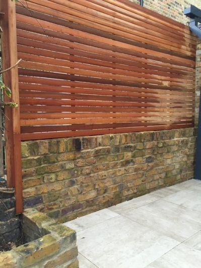 trellis brick wall 2015 - Brick Garden 2015