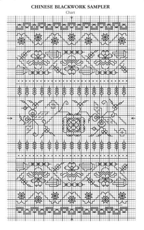 Gallery Ru Foto 25 B 3 Lesley Wilkins Beginner S Guide To Blackwork Nice Nata San Blackwork Blackwork Cross Stitch Blackwork Embroidery Patterns