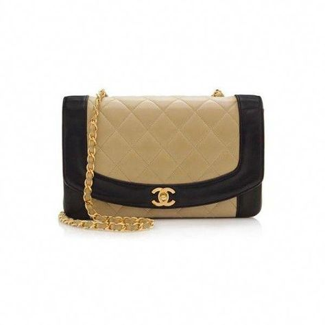 09cf450a4c9ad2 Rental Chanel Lambskin Vintage Classic Flap Shoulder Bag ($300) ❤ liked on Polyvore  featuring bags, handbags, shoulder bags, purses, beige, beige purse, ...