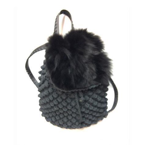 bubbles Furry chic!!!!!! Backpack...