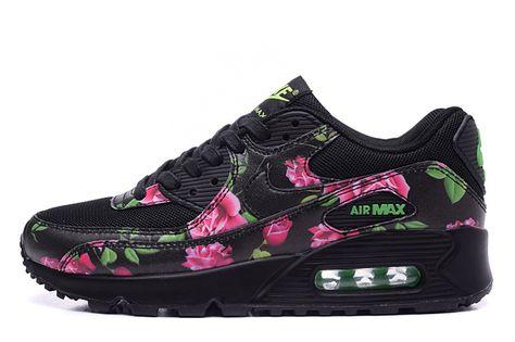 Nike Air Max 90 Chaussures Femmes Fleur rose blanc | Nike