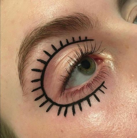 makeup ideas 2019 ideas blue eyes of july makeup ideas ideas for brown eyes ideas for blue eyes of the dead makeup ideas halloween makeup ideas ideas for prom Makeup Eye Looks, Creative Makeup Looks, Eye Makeup Art, Clown Makeup, Cute Makeup, Skin Makeup, Makeup Inspo, Halloween Makeup, Makeup Inspiration