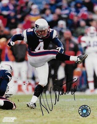 Adam Vinatieri Signed Autographed Photo New England Patriots Nfl Coa 8x10 Ebay In 2020 New England Patriots Patriots New England