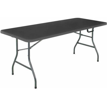 Cosco 6 Centerfold Table Multiple Colors Decor Table Table