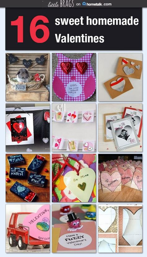 Little Brags: Sweet Homemade Valentines -- Curated For Hometalk