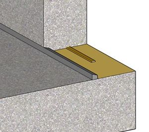 Waterproofing Horizontal Vertical Construction Joints Triple Protection Method Concrete Forms Joint Horizontal