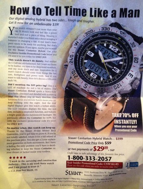 punkiraq: an actual advertisement seen in science magazine