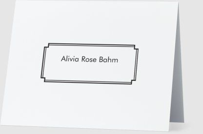 personalized note cards designs