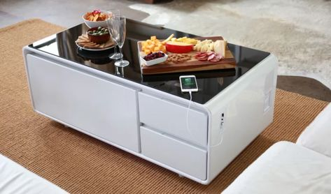 Epic Coffee Table That Chills Beer Charges Phones Plays Music Is