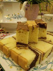 Coretan Dari Dapur Marble Butter Cake Resep Makanan Penutup Makanan Kue Bolu